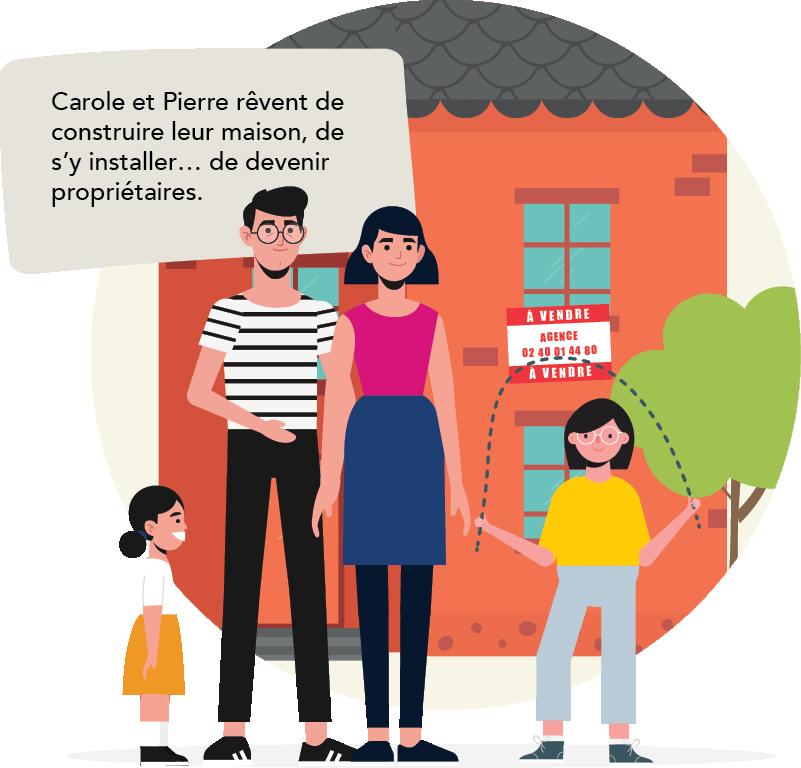 Carole et Pierre souhaitent construire leur maison