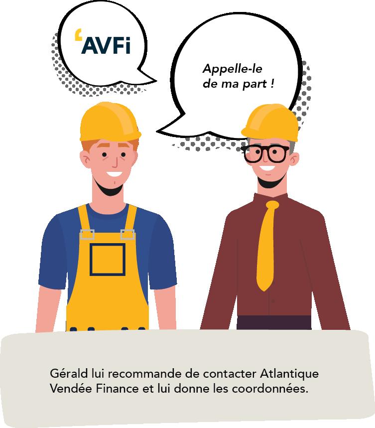 Gérald recommande de contacter AVFi